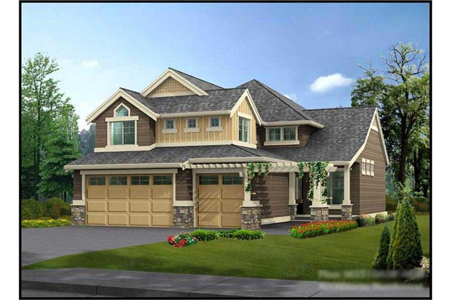 Main image for house plan # 14731