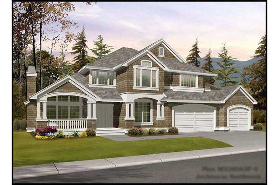 Main image for house plan # 14911