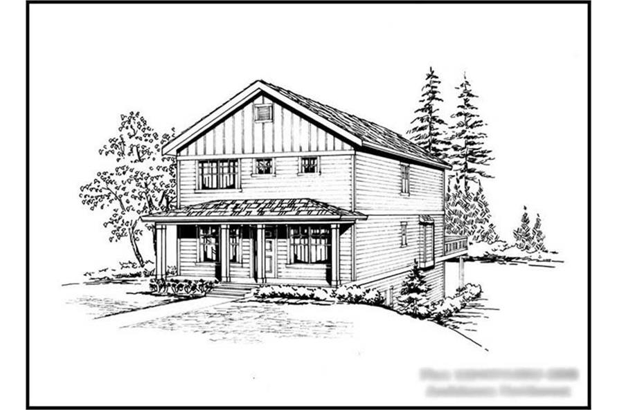 Main image for house plan # 14717