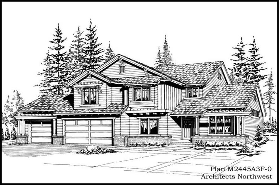 Main image for house plan # 14709