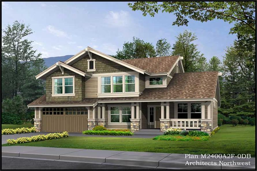 Main image for house plan # 14696