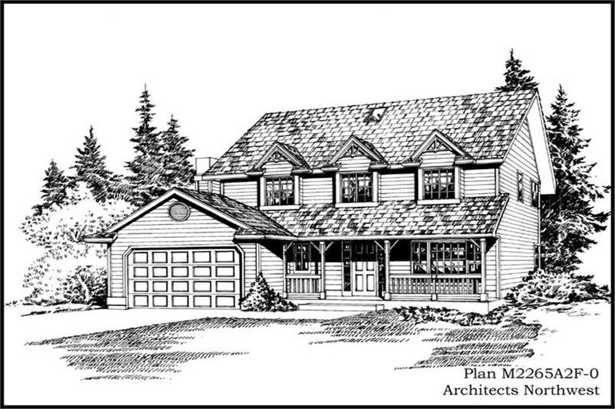 Main image for house plan # 14675