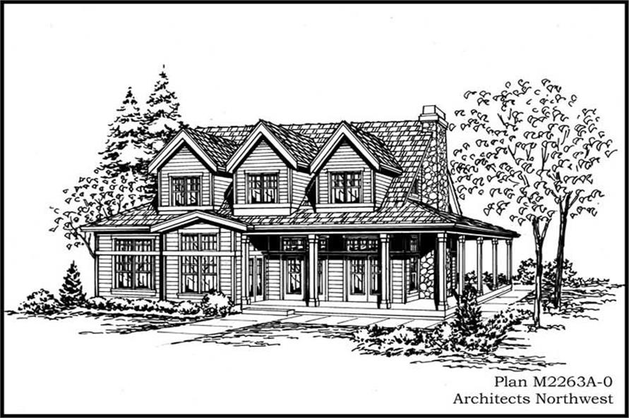 Main image for house plan # 14674