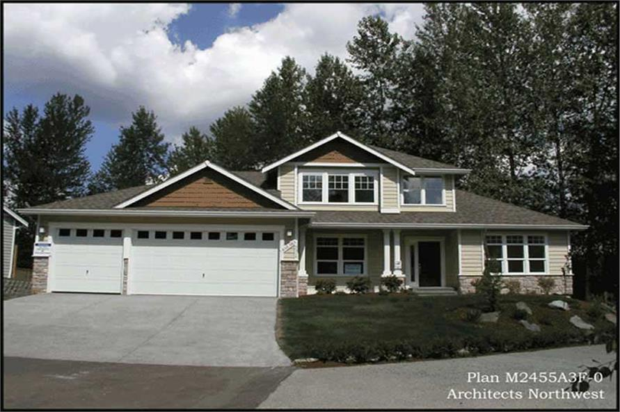 Main image for house plan # 14711