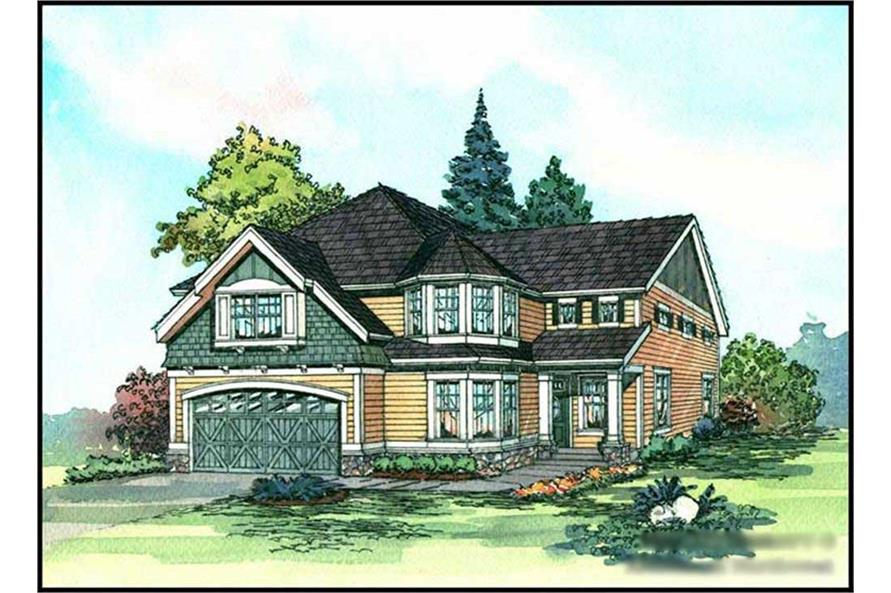 Main image for house plan # 9285