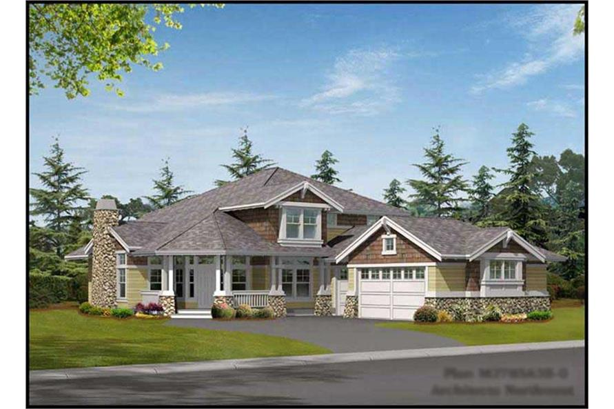 Main image for house plan # 9286