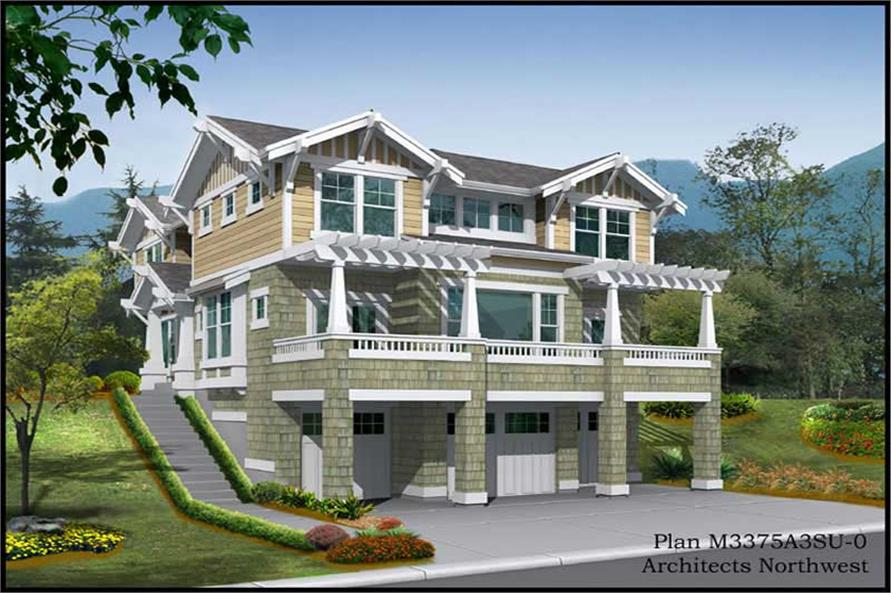 Main image for house plan # 9313