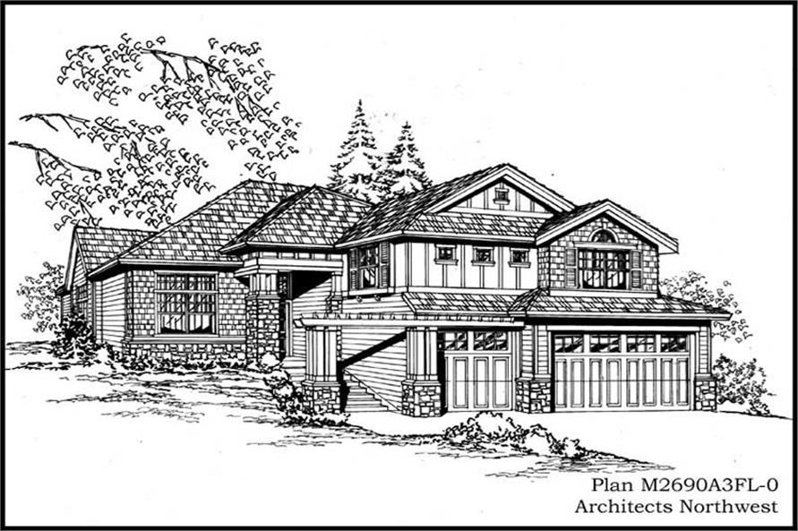 Main image for house plan # 14781