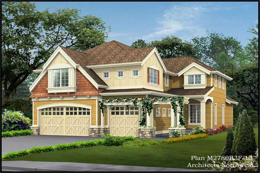 Main image for house plan # 14791