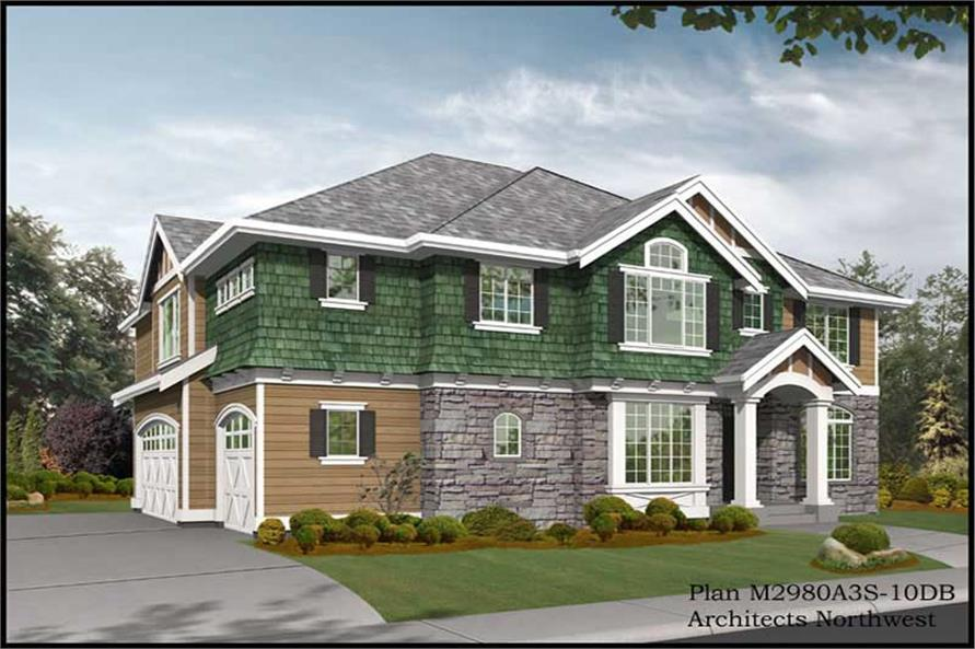 Main image for house plan # 14829