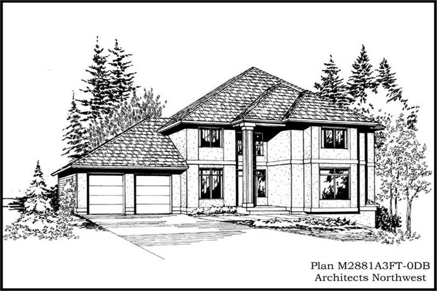 Main image for house plan # 14819