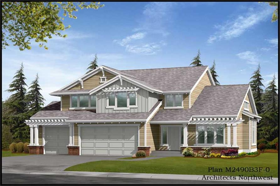 Main image for house plan # 9267