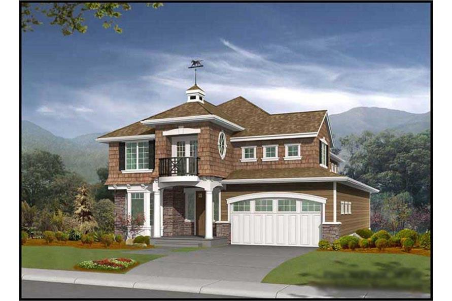 Main image for house plan # 9270