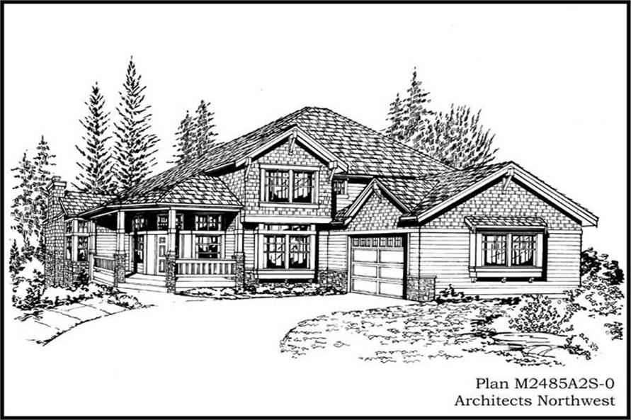 Main image for house plan # 14722