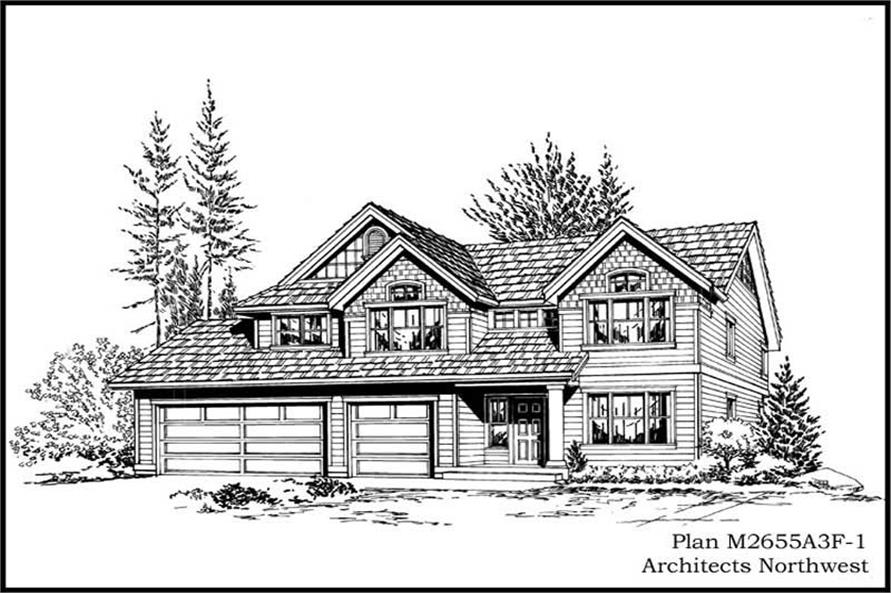 Main image for house plan # 14778