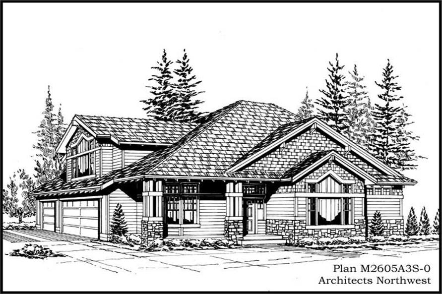 Main image for house plan # 14752