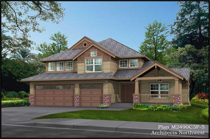 Main image for house plan # 14724