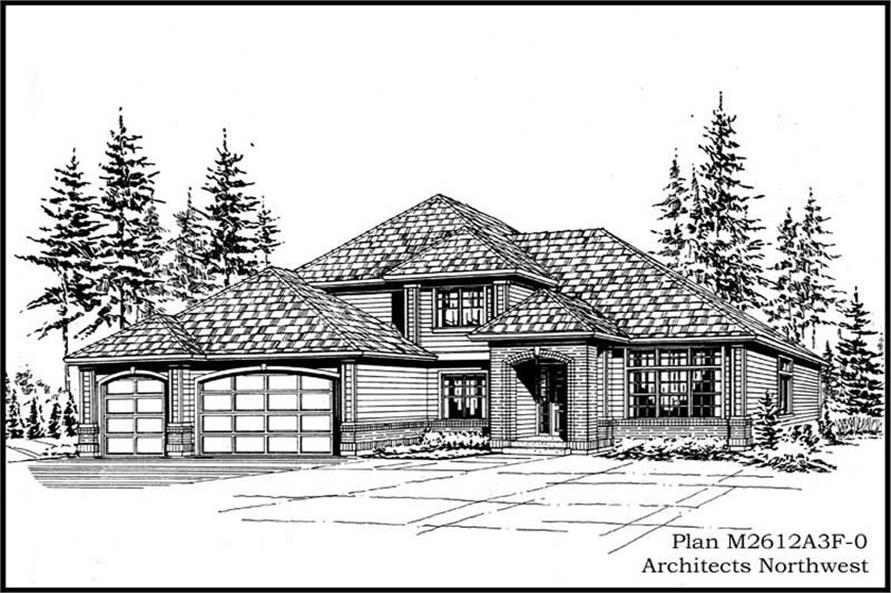 Main image for house plan # 14753