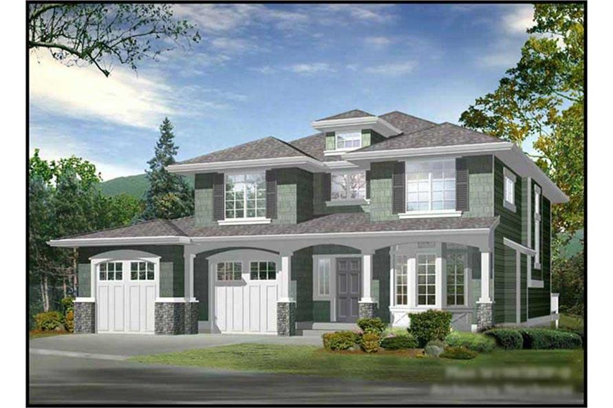 Main image for house plan # 9260
