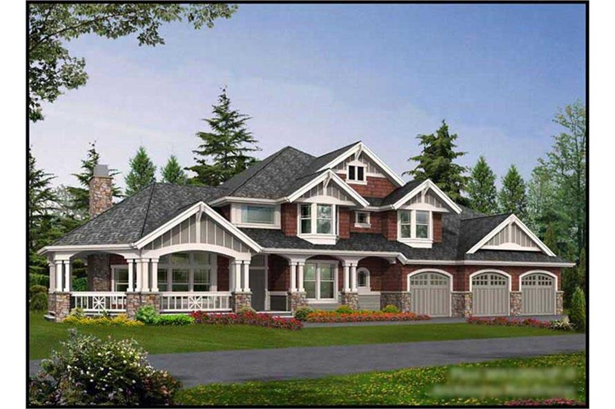 Main image for house plan # 9355