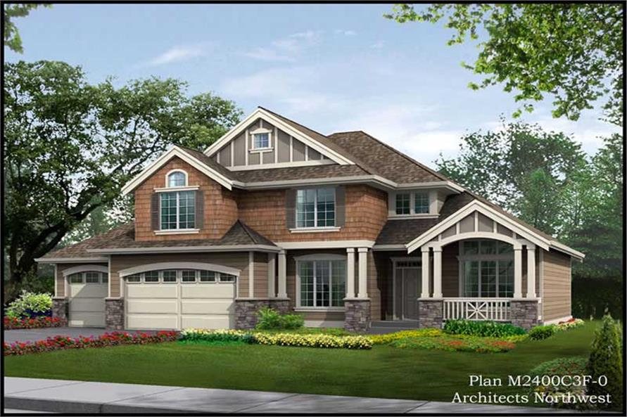 Main image for house plan # 14699