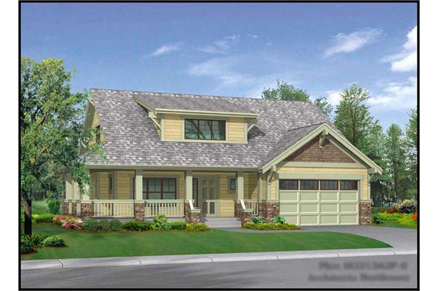 Main image for house plan # 9264