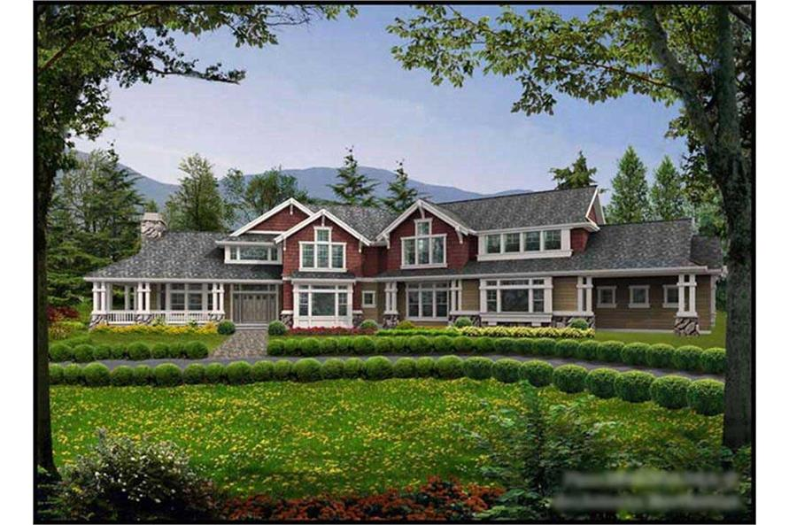 Main image for house plan # 9361