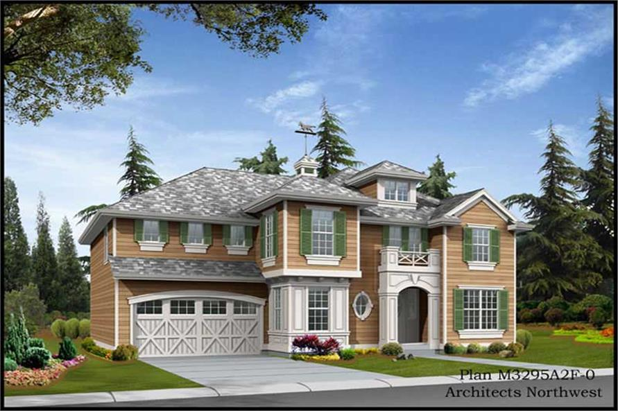 Main image for house plan # 9333