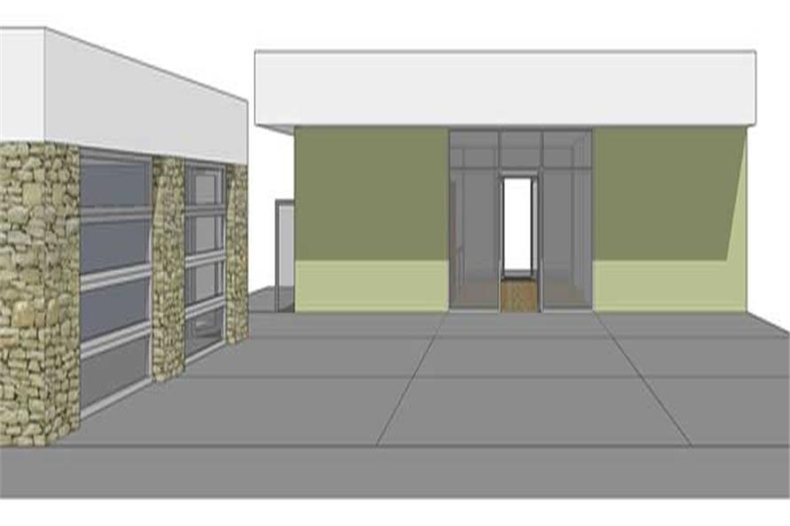House Plan DT-0043 Front Perspective