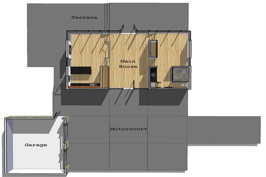 House Plan DT-0043 Site Plan