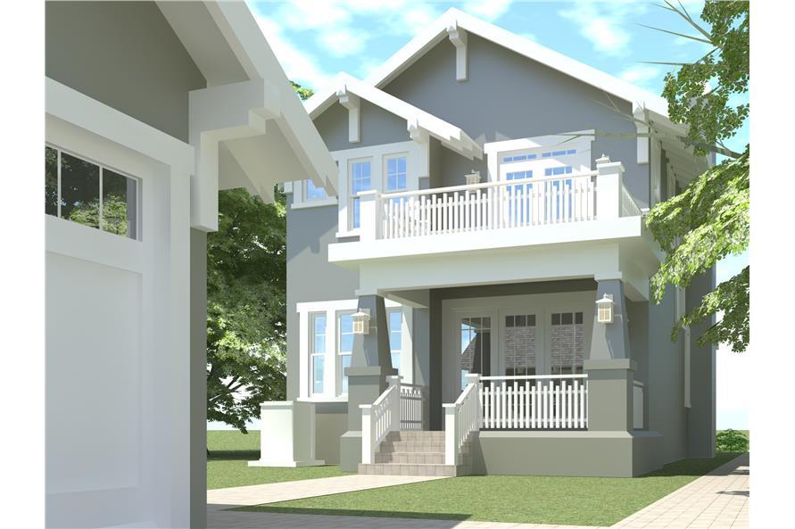 116-1007: Home Plan Rendering