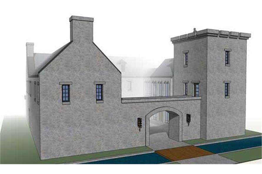 116-1010: Home Plan Rendering