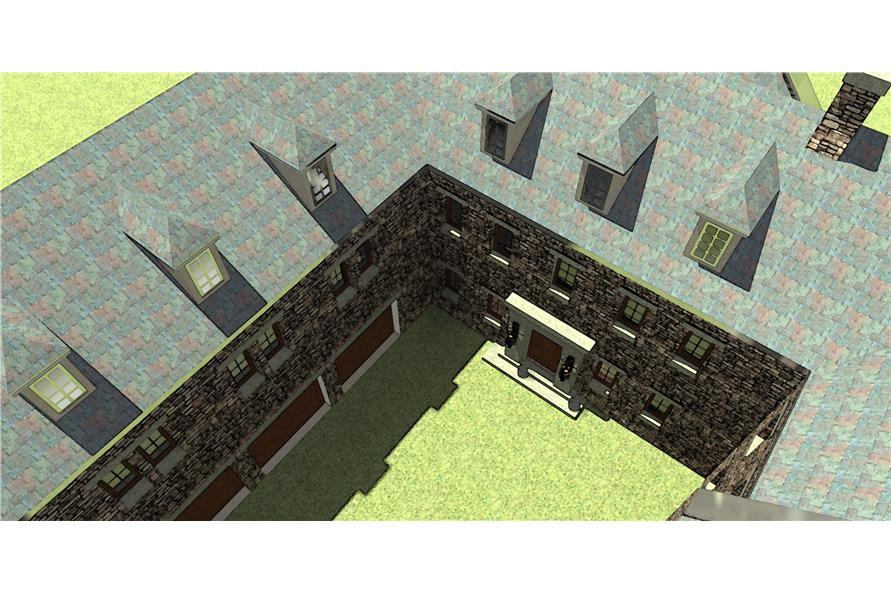 116-1010: Home Plan 3D Image