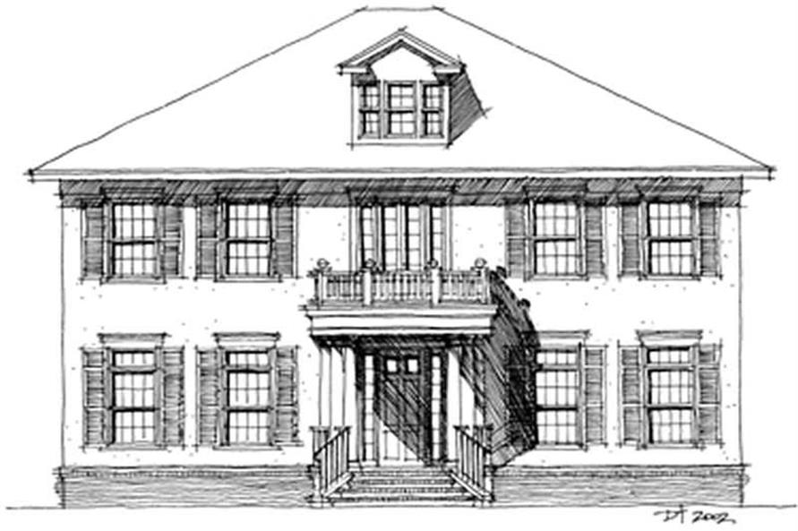 Main image for house plan # 9949