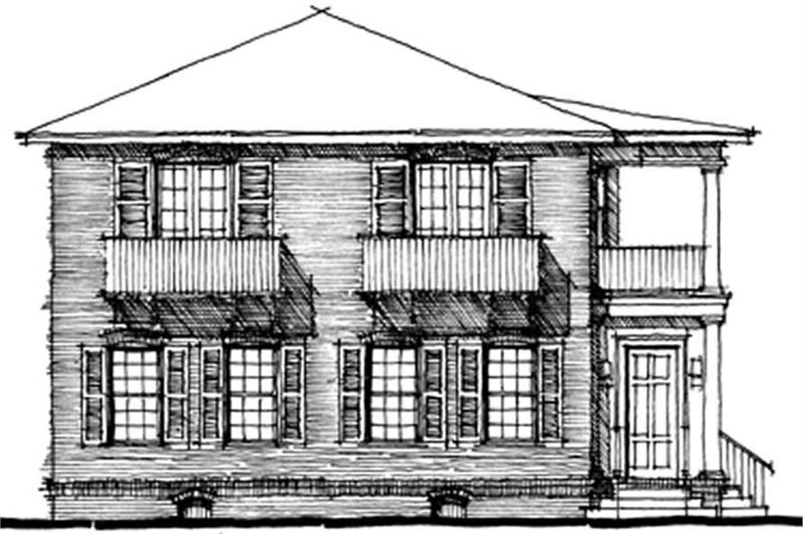 Main image for house plan # 9947