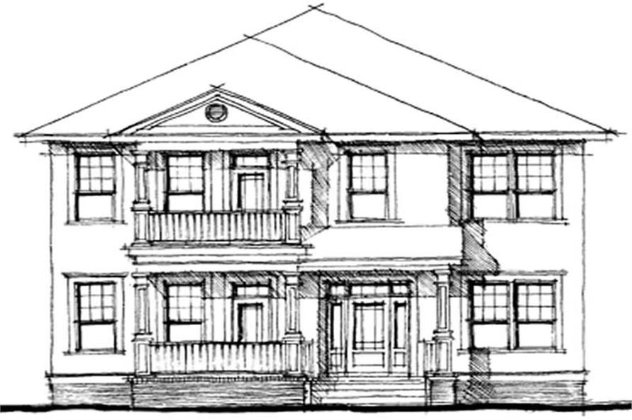 Main image for house plan # 9948
