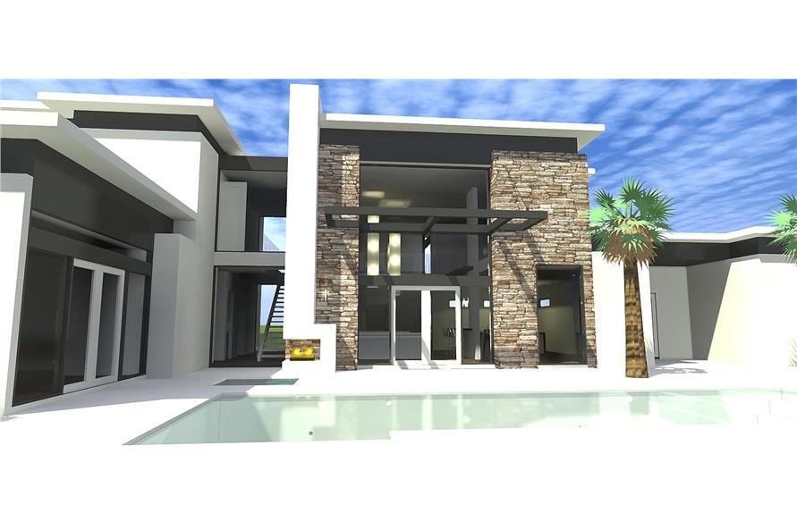116-1080 house plan rear