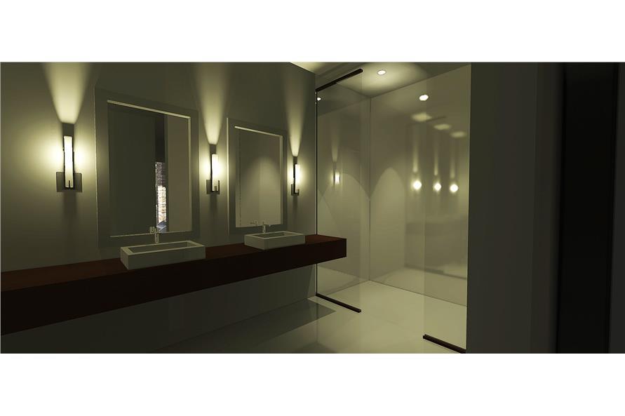116-1080 house plan master bath