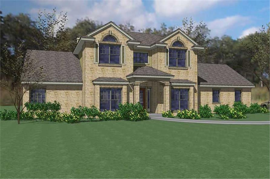 Main image for house plan # 20801