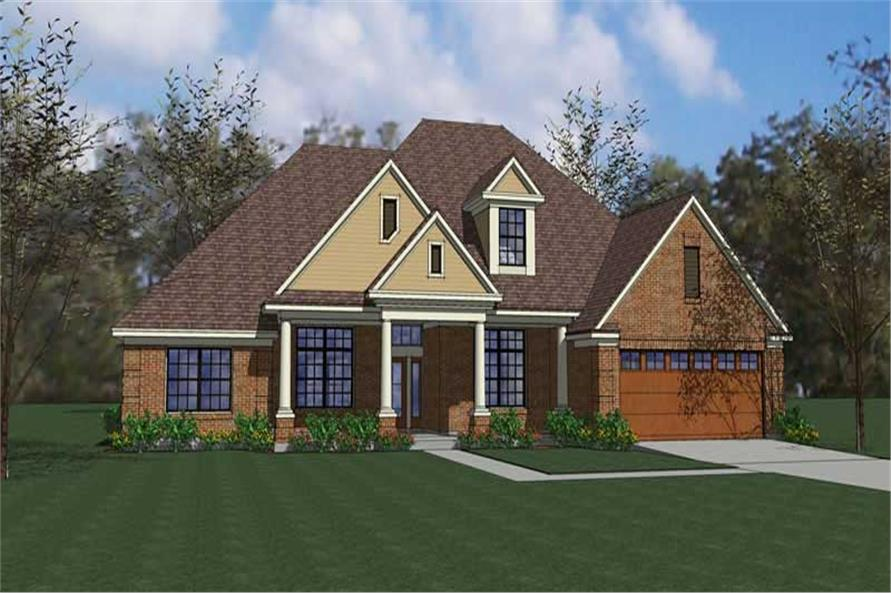 Main image for house plan # 20766