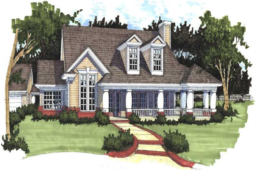 Main image for house plan # 20754