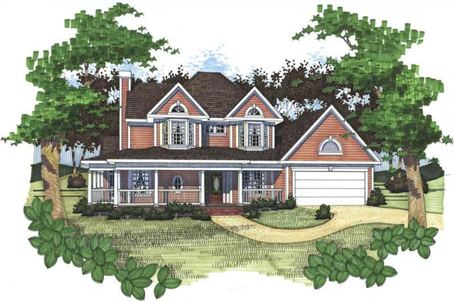 Main image for house plan # 20731