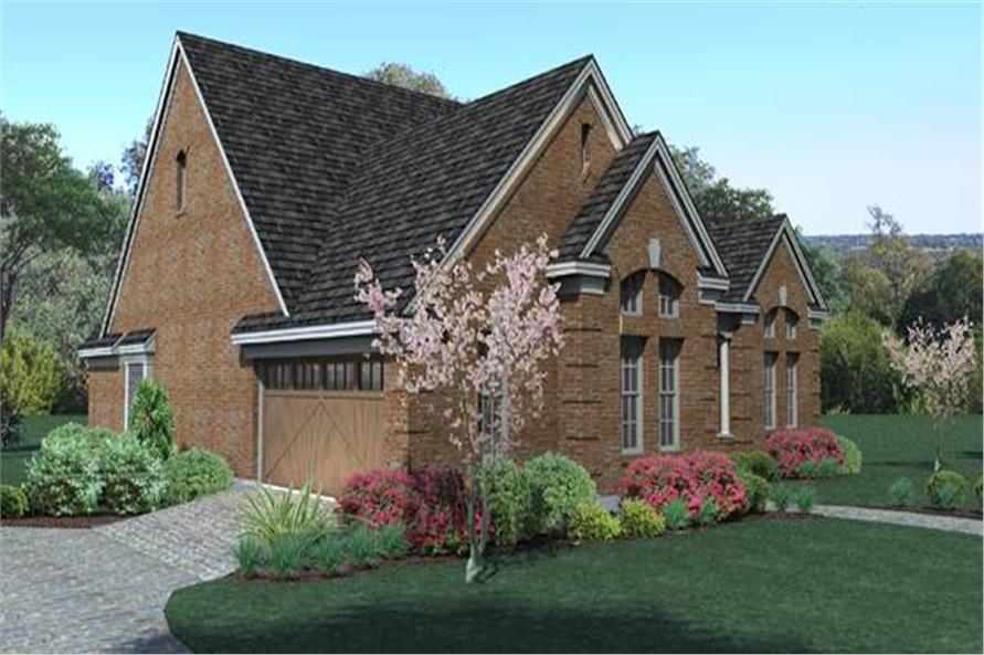 117-1018: Home Plan Rendering