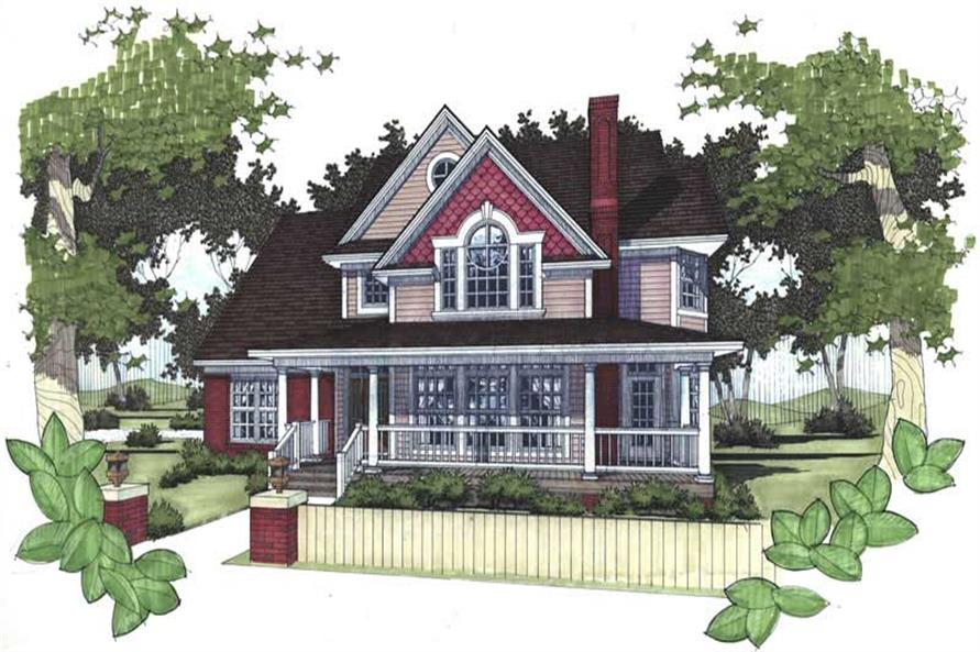 Main image for house plan # 20757