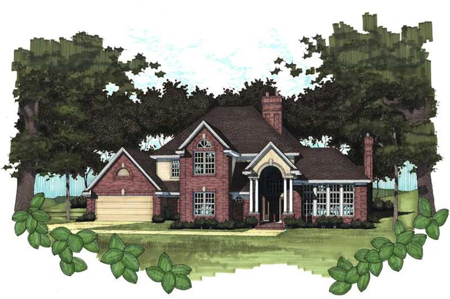Main image for house plan # 20799