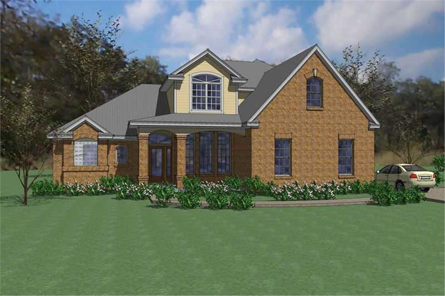 Main image for house plan # 20791