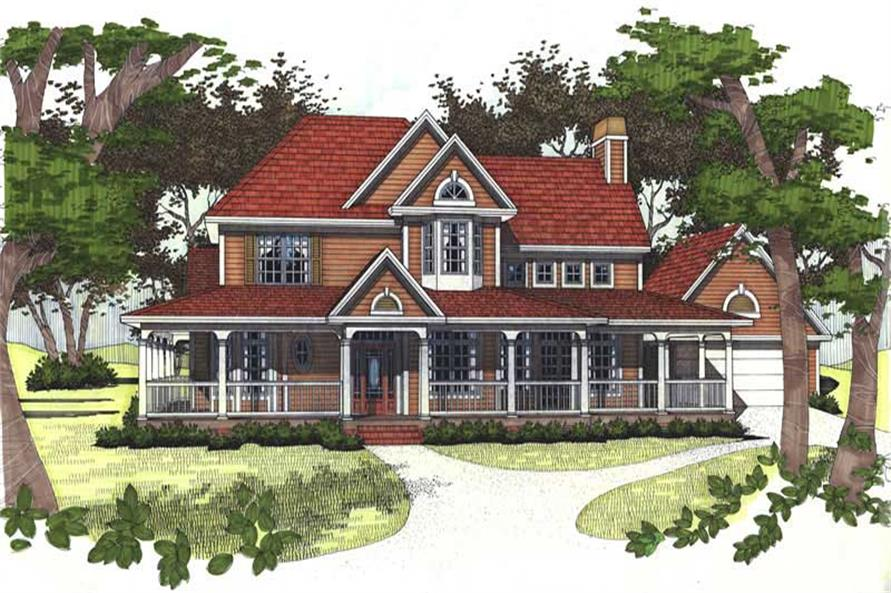 Main image for house plan # 20773