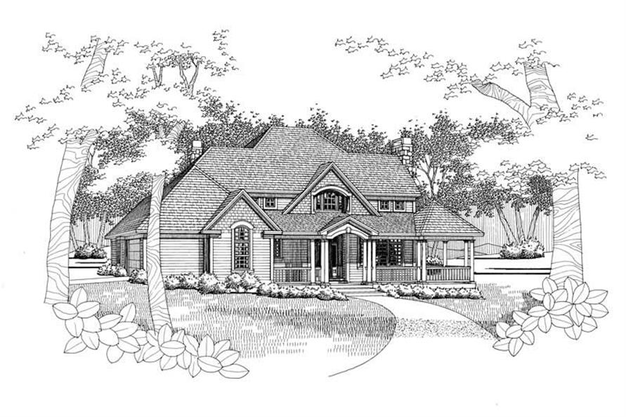 Main image for house plan # 20772