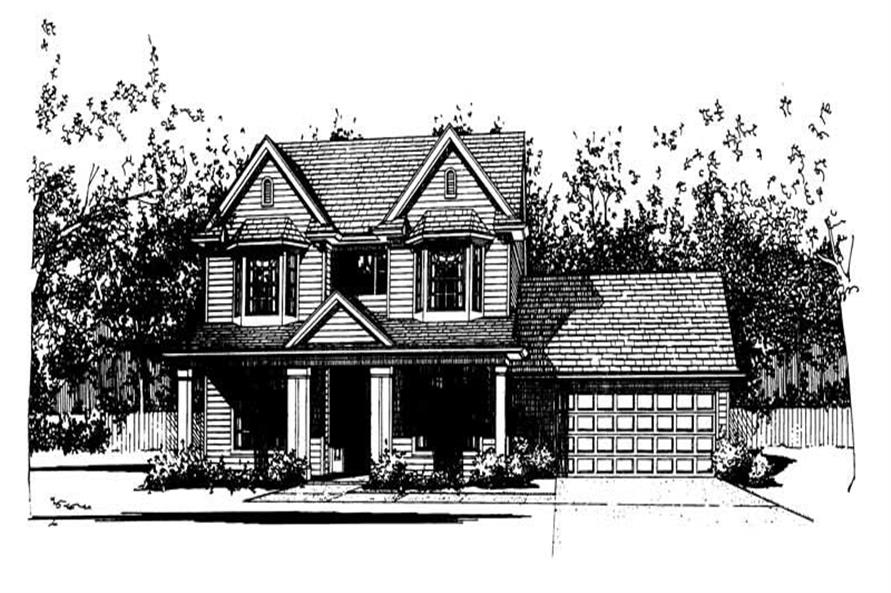 Main image for house plan # 20771