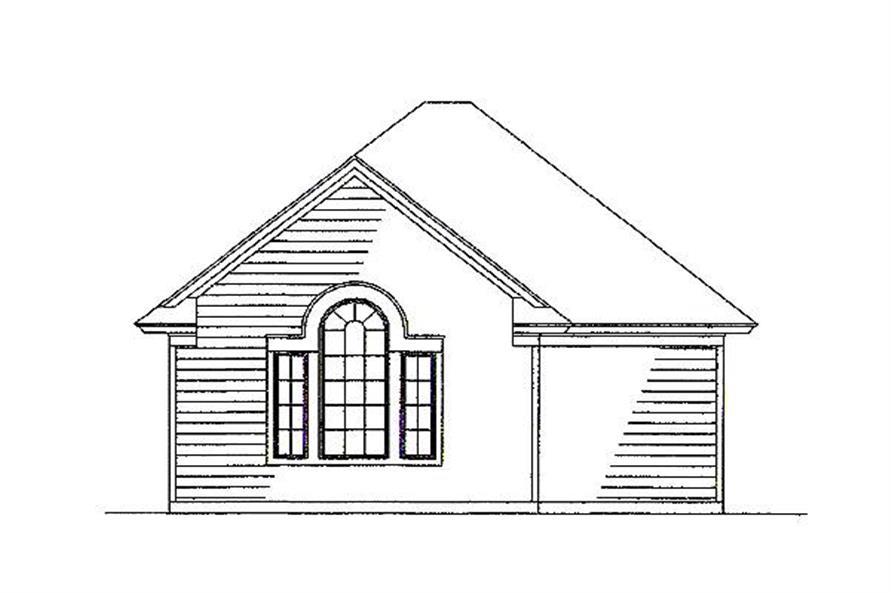 117-1030: Home Plan Other Image-Garage